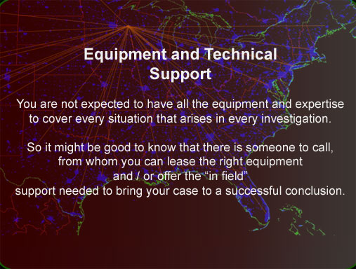 Technical support for Wisconsin investigators