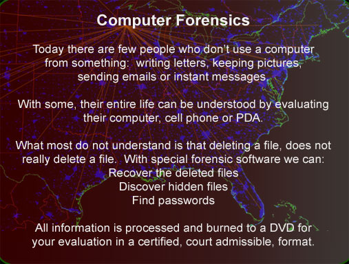 Computer forensics file recovery Wisconsin Minnesota