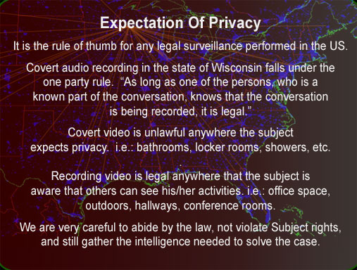 expectation of privacy laws