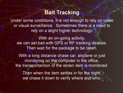 Electronic trackers Corporate theft