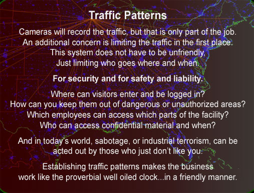 Internal Traffic pattern design security