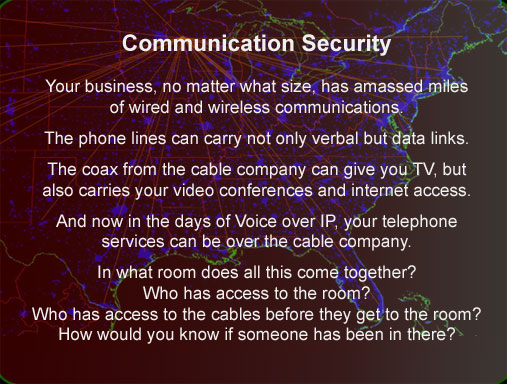 Communication Security tscm