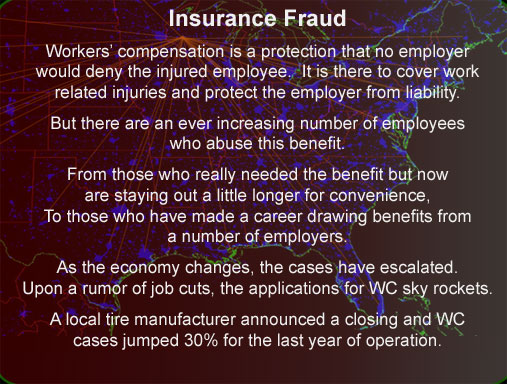 Chippewa Valley investigator Insurance fraud