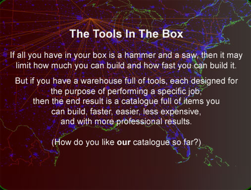 Job specific tools effective fast conclusions